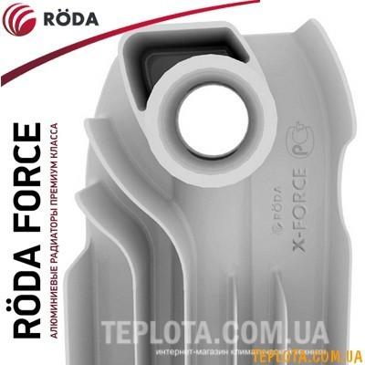Алюминиевый радиатор RODA Force (500x100мм), Италия