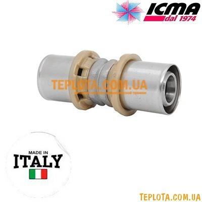 Пресс-фитинг прямой равноразмерный 16-16 ICMA SEMPITER арт.400