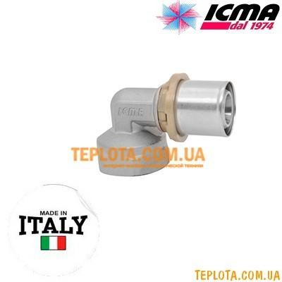 Пресс-фитинг колено с внутренней резьбой 1)2*-16 ICMA SEMPITER арт.405