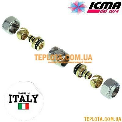 Резьбовой фитинг прямой 16-16 ICMA арт.530