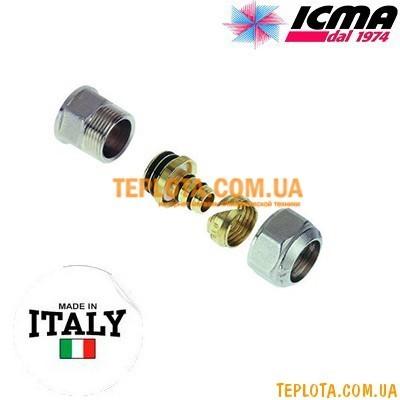 Резьбовой фитинг прямой с внутренней резьбой 16-1)2* ICMA арт.532