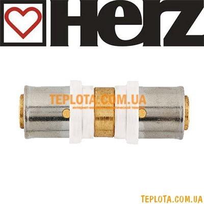 Пресс-фитинг HERZ муфта д.16х2 мм, арт.P701600