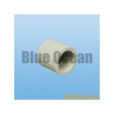 BLUE OCEAN Муфта соединительная с равными диаметрами д.20 мм