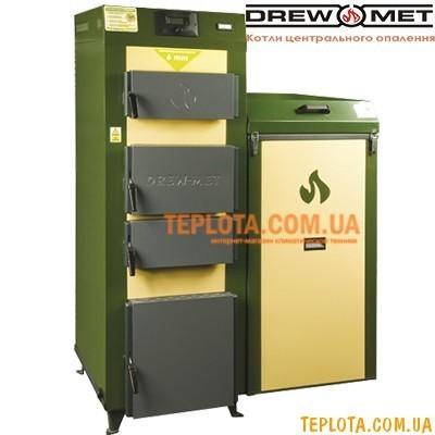 Твердотопливный котел с автоподачей топлива DREW-MET Eko-Prim 24 кВт