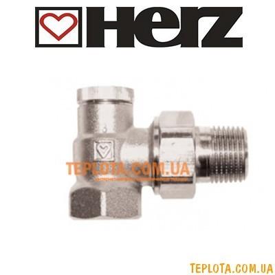 HERZ Вентиль запорный ГЕРЦ-RL -1, угловой 1)2* арт. 1372441