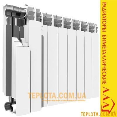 Радиатор биметаллический AAA 500-80 (полный биметалл)