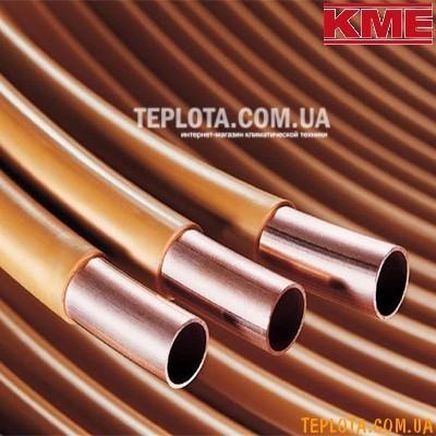 Труба медная KME Cuproterm для теплого пола диаметром 14*0,8 мм