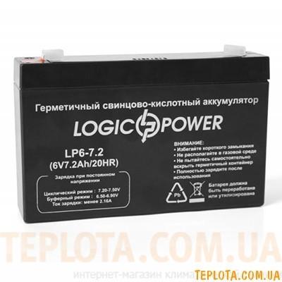 Аккумуляторная батарея LogicPower  LP6-7,2 АН