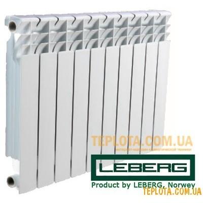 Радиатор алюминиевый LEBERG 500-80 aluminum