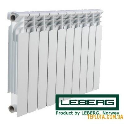 Радиатор биметаллический LEBERG 500-80 bimetall