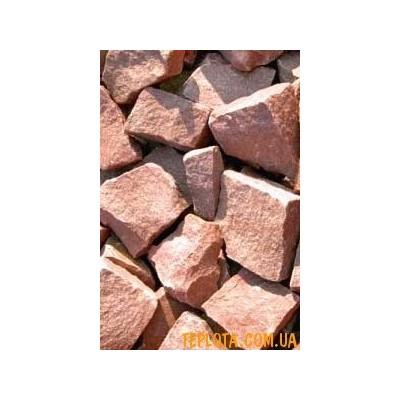 Камень для бани Малиновый Кварцит 20кг