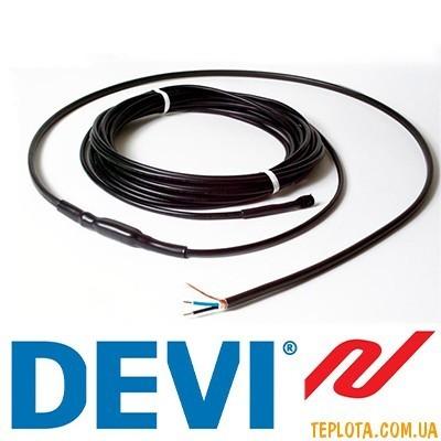 Нагревательный кабель двухжильный DEVIsafe 20T 125W 230V 6m (Код: 140F1273) (Дания)