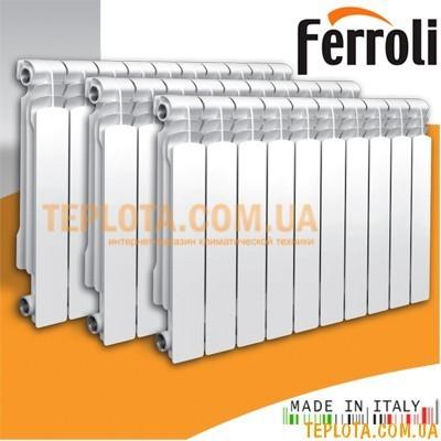 Радиатор алюминиевый FERROLI POL 500