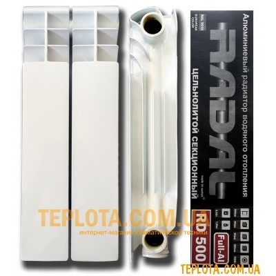 Радиатор алюминиевый RADAL 350-80