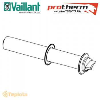 Protherm - Vaiilant - Труба коаксиальная с манжетами 60/100, 0,75 м, арт. 0020219520