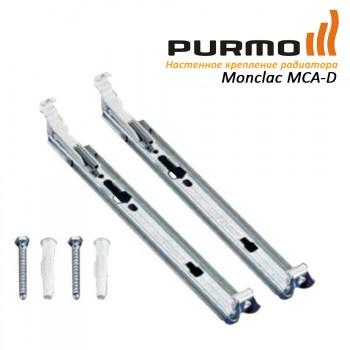 Крепление настенное PURMO H200 21, 22 тип (набор из 2х креплений) арт. AZ02BW2MC2002201