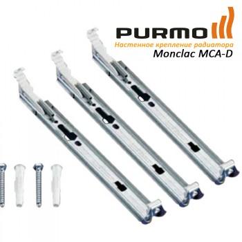 Крепление настенное PURMO H200 21, 22 тип (набор из 3х креплений) арт. AZ02BW3MC2002201