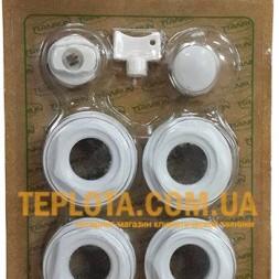 Комплект подключения радиатора TIANRUN с крючками и переходом на 1*2 дюйма