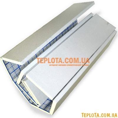 Изоляция под теплый пол PENOROLL с фольгированным покрытием, толщиной 50 мм