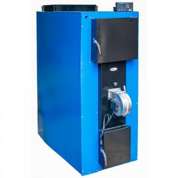Твердотопливный котел ТЕРМИТ-ТТ 60 СТАНДАРТ (с теплоизоляцией, 60 кВт, верхняя загрузка, длительное горение) + вентилятор и автоматика