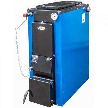 Твердотопливный котел ТЕРМИТ-ТТ 12 СТАНДАРТ (с теплоизоляцией, 12 кВт, верхняя загрузка, длительное горение) + регулятор тяги