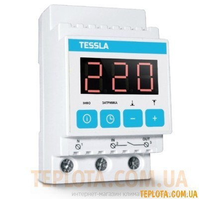 Реле контроля напряжения TESSLA D40t