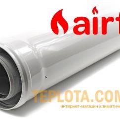 Коаксиальный удлинитель Airfel Standart 1000 мм, диаметр 60-100, для газовых котлов Airfel by Daikin