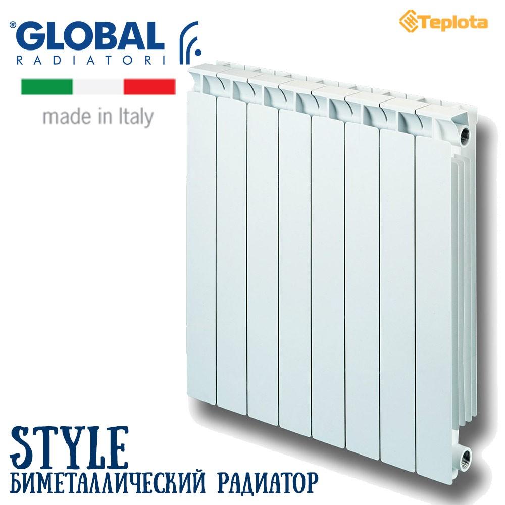Обзор радиаторов Global